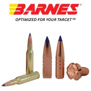 Cartuchos Barnes Vor-Tx 7mm-08 Remington 120 grains TTSX