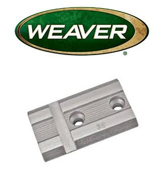 Base Weaver Top Mount de aluminio - 48007
