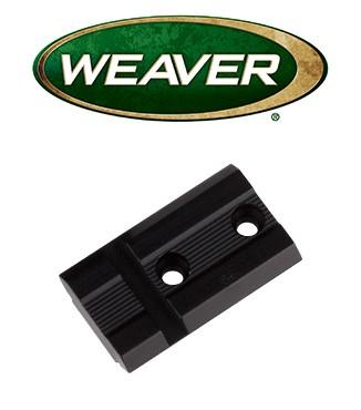 Base Weaver Top Mount de aluminio - 48425