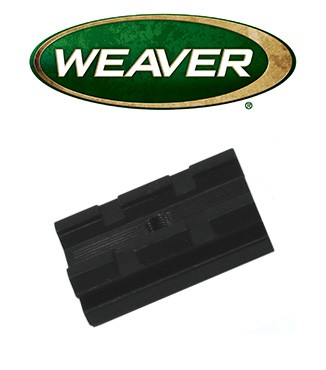 Base Weaver Top Mount de aluminio - 48065