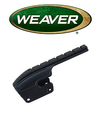 Base Weaver No Gunsmith para escopeta Remington 870