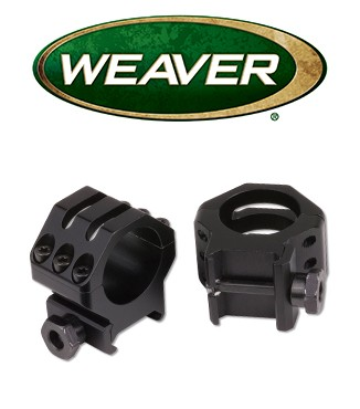 Anillas Weaver 6 Hole Skeleton de 30mm mate - Altas