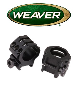 Anillas Weaver 6 Hole Skeleton de 30mm mate - Bajas