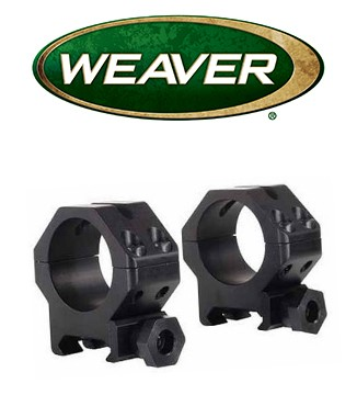 "Anillas Weaver 4 Hole Skeleton de 1"" mate - Medias"