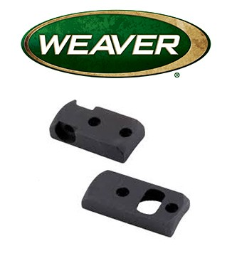 Base Weaver Dovetail de acero mate para Savage 110 LA/SA