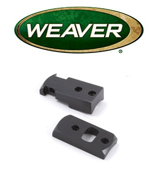 Base Weaver Dovetail de acero para Remington 700 & Weatherby Vanguard