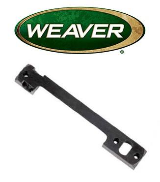Base Weaver Dovetail de acero para Remington 700 LA & Weatherby Vanguard