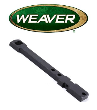 Base Weaver Dovetail de acero para Marlin 1894