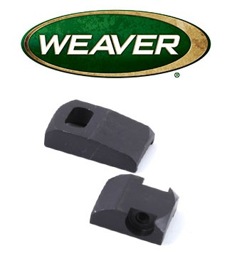 Base Weaver Dovetail de acero para Sako