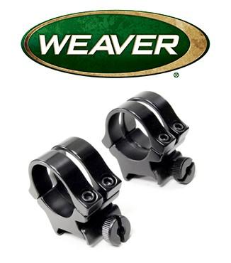 """Anillas desmontables Weaver Quad Lock de 1"""" - Medias"""