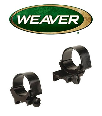 Anillas extendidas desmontables Weaver Top Mount de 30mm - Bajas