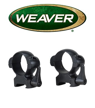 Anillas desmontables Weaver Lever Lok de 30mm - Altas
