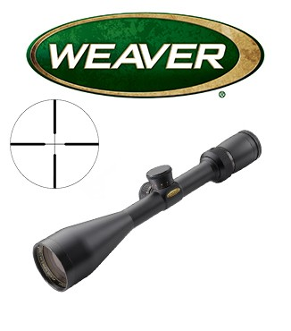 """Visor Weaver Super Slam 2-10x50 de 1"""" con retícula Dual X"""