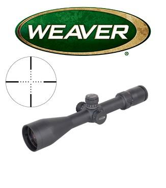 Visor Weaver Tactical 3-15x50 SF de 30mm con retícula Mil Dot con ajuste en MOAs