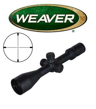 Visor Weaver Tactical 3-15x50 SF de 30mm con retícula iluminada EMDR
