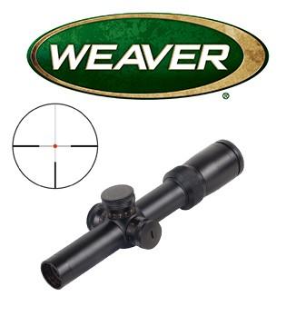 Visor Weaver Super Slam 1,5-6x24 de 30mm con retícula iluminada G4