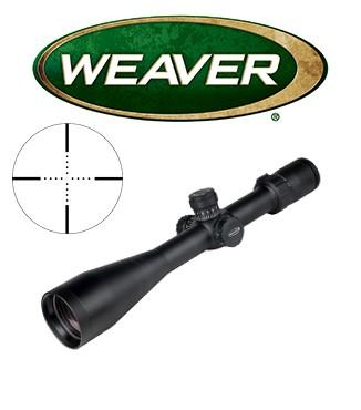 Visor Weaver Tactical 4-20x50 SF de 30mm con retícula Mil Dot con ajuste en Mills