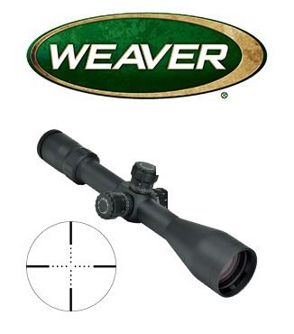 Visor Weaver Tactical 3-15x50 SF de 30mm con retícula Mil Dot con ajuste en Mills