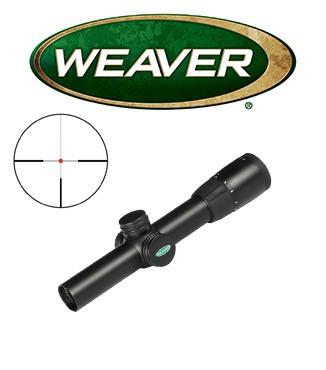 Visor Weaver Euro Super Slam 1-5x24 de 30mm con retícula iluminada G4