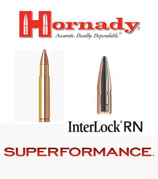 Cartuchos Hornady Superformance .35 Whelen 200 grains SP
