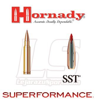 Cartuchos Hornady Superformance .338 Winchester Magnum 200 grains SST