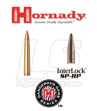 Cartuchos Hornady Dangerous Game .375 Holland & Holland Magnum 270 grains SP-RP