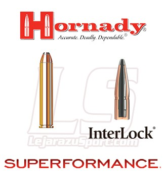 Cartuchos Hornady Superformance .444 Marlin 265 grains FP