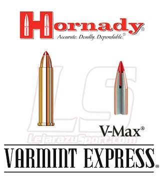 Cartuchos Hornady Varmint Express Rimfire .22 WMR 30 grains V-Max
