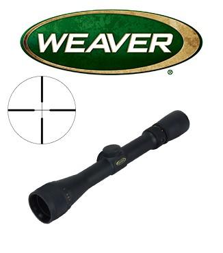 Visor Weaver Classic Rimfire 3-9x32 A/O de 1'' con retícula Dual X