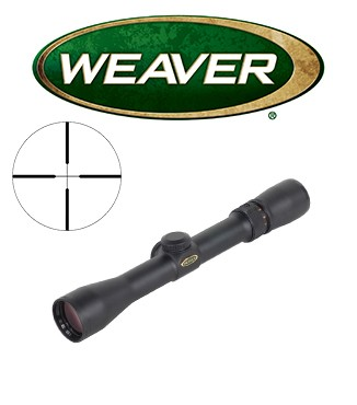 Visor Weaver Classic V 2,5-7x32 de 1'' con retícula Dual X