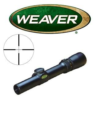 Visor Weaver Classic V 1-3x20 de 1'' con retícula Dual X