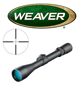 Visor Weaver Classic V 3-9x38 de 1'' con retícula Dual X