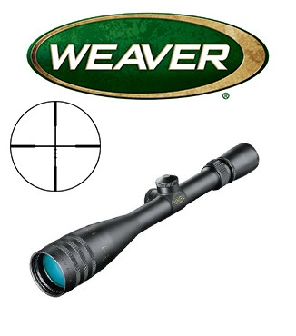 Visor Weaver Classic V 4-16x42 AO de 1'' con retícula Ballistic X