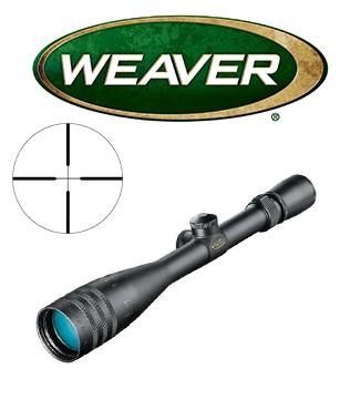 Visor Weaver Classic V 4-16x42 AO de 1'' con retícula Dual X
