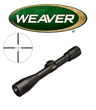 Visor Weaver Classic K Scout Scope 4x28 de 1'' con retícula Dual X