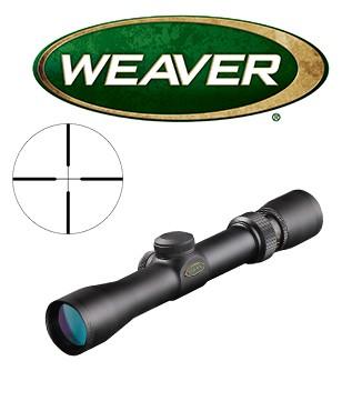 Visor Weaver Classic Handgun 2,5-8x28 de 1'' con retícula Dual X