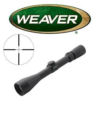Visor Weaver 40/44 3-10x44 de 1'' con retícula Dual X