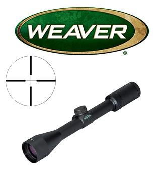 Visor Weaver Kaspa 3-9x40 de 1'' con retícula iluminada Dual X