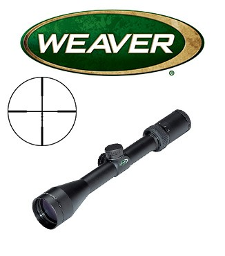 Visor Weaver Kaspa 4-16x44 SF de 1'' con retícula Ballistic X