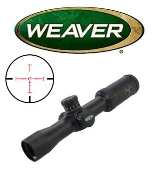 Visor Weaver Kaspa Tactical 1,5-6x32 de 30mm con retícula iluminada Z-CIRT