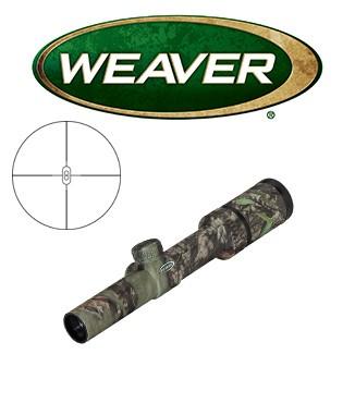 Visor Weaver Kaspa 1-4x24 Camo de 30mm con retícula VZT