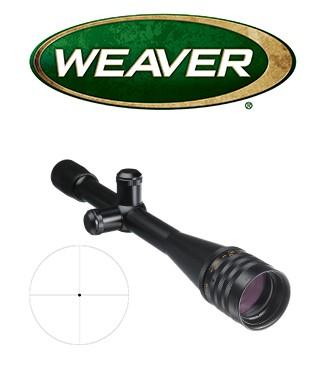 Visor Weaver Target Series 36x40 AO de 1'' con retícula Fine Crosshair Dot de 1/8 MOA