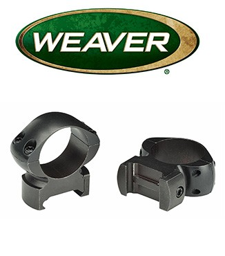 Anillas Weaver Grand Slam de 30mm mate - Altas