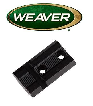 Base Weaver Top Mount de aluminio - 48004