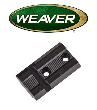 Base Weaver Top Mount de aluminio - 48502