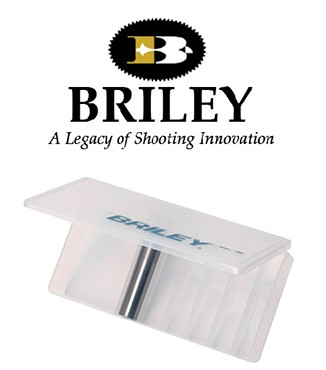 Caja Briley para 6 chokes largos, llave y lubricante