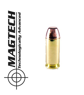 Cartuchos CBC Magtech FMJ FP .40 S&W 180 grains