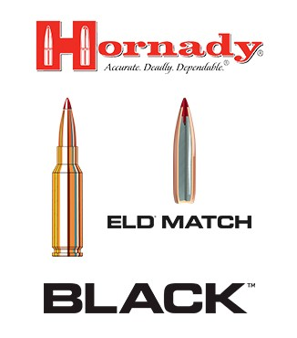 Cartuchos Hornady Black 6.5 Grendel 123 grains ELD Match