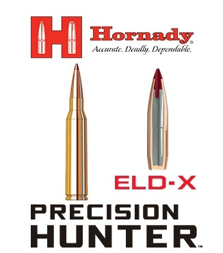 Cartuchos Hornady Precision Hunter .300 Weatherby Magnum 200 grains ELD-X