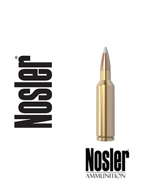 Cartuchos Nosler Trophy Grade .270 WSM (Winchester Short Magnum) 140 grains Accubond